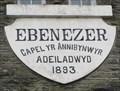 Image for 1893 - Ebenezer Chapel - Upper Cwmtwrch, Powys, Wales.