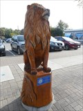 Image for Orangeville Tree Sculptures: The Lion