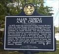 Image for Allen Temple A.M.E. Church/Grant Chapel A.M.E. Church - Phenix City, AL