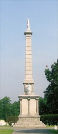 Image for Civil War Monument - Mound City National Cemetery - Mound City, IL