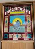 Image for Buffalo Bill Stained Glass Window  -  Golden, CO