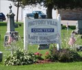 Image for Factoryville Cemetery - East Waverly, NY