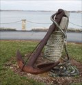"""Image for A """"Car"""" anchor at a Bank on the banks of the Mississippi R."""