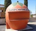 Image for Giant Orange Stand - Satellite Oddity - Fontana, California, USA