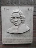 Image for Plaquette Jan Nieuwenhuyzen - Moordrecht, NL
