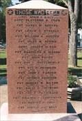 Image for World War I - Reynolds County Veterans Memorial - Centerville, MO