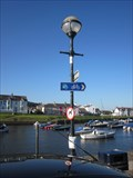 Image for West Trailhead, Old General Store House, Quay Parade, Aberaeron, Ceredigion, Wales, UK