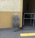 Image for Milestone at the Post Office - Simplon, VS, Switzerland
