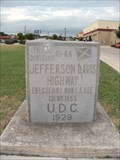 Image for Jefferson Davis Memorial Highway Marker - NE San Antonio, TX