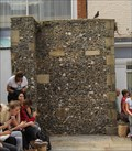 Image for Medieval Wall -- Canterbury High Street, Canterbury, Kent, UK