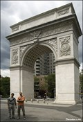 Image for Arc de Triomphe in Washington Square Park (New York City)