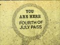 Image for You Are At Fourth of July Pass in Idaho