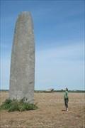 Image for Menhir de Kergadiou - Plourin, Finistère, FRA