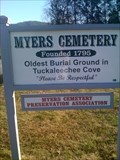 Image for Myers Cemetery-Tuckaleechee Cove, Townsend Tennessee