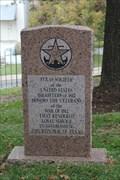 Image for War of 1812 Veteran's Memorial -- Texas State Cemetery, Austin TX