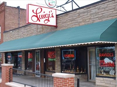 Luigis Akron Ohio Independent Pizza Restaurants On Waymarkingcom