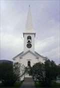 Image for Monadnock Congregational Church Clock  -  Colebrook, NH