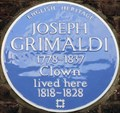 Image for Joseph Grimaldi - Exmouth Market, London, UK