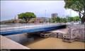 Image for A. Villaflor swing bridge / Puente giratorio A. Villaflor - Puerto Madero (Buenos Aires)