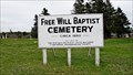 Image for Free Will Baptist Cemetery - Beaver River, NS