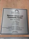 Image for Bascom Library and Community Center - 2013 -  San Jose, CA