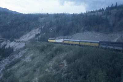 Alaska RR Train