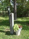 Image for Hitching post, Halsey House - Halseyville, NY