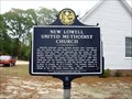 Image for New Lowell United Methodist Church - HCC - Clay Co