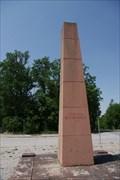 Image for Obelisk Buchenwald - Weimar, Germany