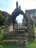 Image for Canopied Tomb & Effigies - St Mary's Church - Astbury, Cheshire,UK.