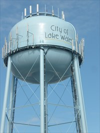 Florida, Water Tower, City of Lake Wales.