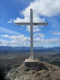 Image for White Cross on Mt Tzouhalem