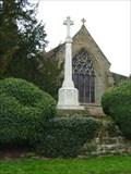 Image for Memorial Cross, Chaddesley Corbett, Worcestershire, England