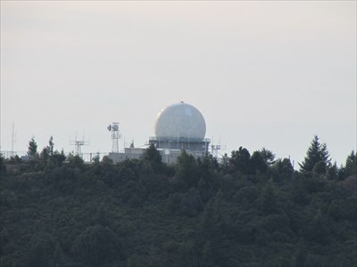Radar Dome on West Peak, Mt. Tamalpais
