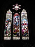 Image for The Life of Christ - Church, Broad Street, Llanfair Caereinion, Powys, Wales, UK
