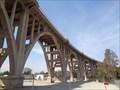Image for Historic Route 66 - Colorado Street Bridge - Pasadena, California, USA.