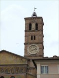 Image for Bell Tower - Santa Maria in Trastevere - Roma, Italy