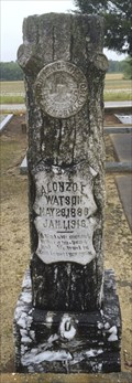 Image for Alonzo E Watson - Liberty Cemetery - Pansey, AL