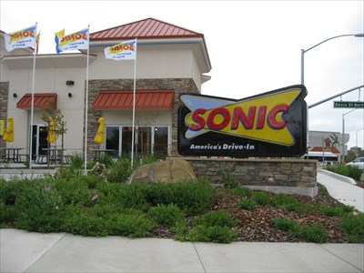 Sonic Bella Vista Road Vacaville Ca Drive In Restaurants On Waymarking