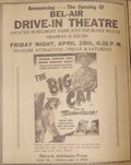 Image for Bel-Air Drive-in Theatre - Calhoun, GA
