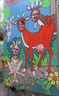 Image for Goat Family Cutout at Wilderness Walk - Hayward, Wisconsin