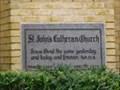 Image for 1932 - St. John's Lutheran Church - San Antonio, TX