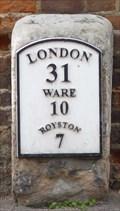 Image for Milestone - High Street, Buntingford, Hertfordshire, UK.