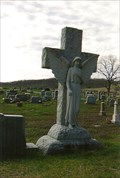 Image for Stone Cross with Angel - Star Hope Cemetery - Elsberry, MO