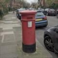 Image for Victorian Pillar Box - Aberdare Gardens - South Hampstead - London - UK