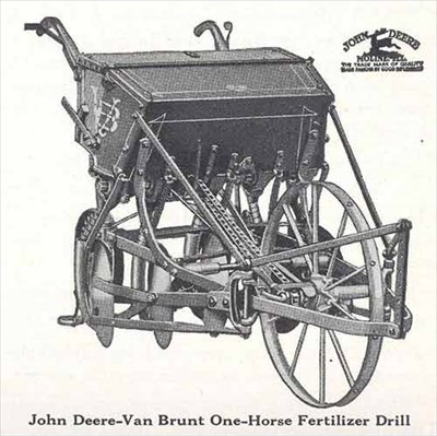 from the cover of a john deer catalog