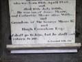 Image for 2 Samuel 12:23 - George Moore Memorial - The Cronk, Isle of Man