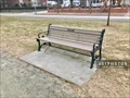Image for Ruth Markoff dedicated bench - Providence, Rhode Island   USA