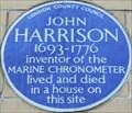 Image for John Harrison - Dane Street, London, UK