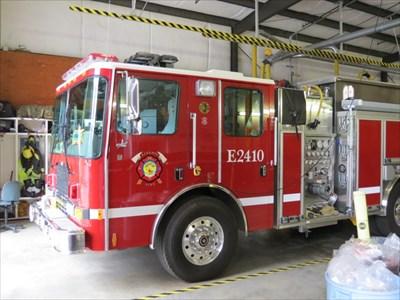 Fire Engine E2410 Cab, Felton, CA